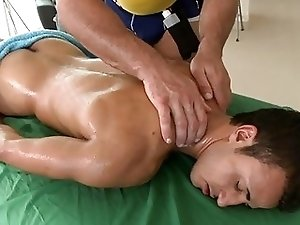 Dude takes this body builders hard red cock