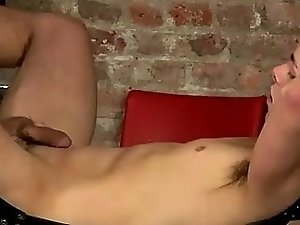 Hot gay Face Fucked With A Cummy Cock