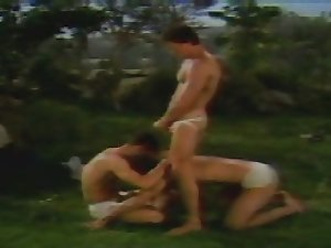 Peter North riding COCK,getting sucked & rimmed 'Vintage'