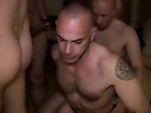 Priam's gang bang - bareback