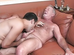 dad and son's friend
